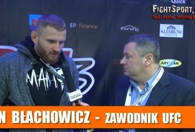 Jan Błachowicz o walce Rafał Sępkowskiego na DFN 3! Wywiad!