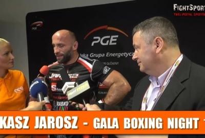 Łukasz Jarosz: Przez 8,5 roku nie siedziałem, nie leżałem, tylko trenowałem! Wywiad po Narodowej Gali Boksu!