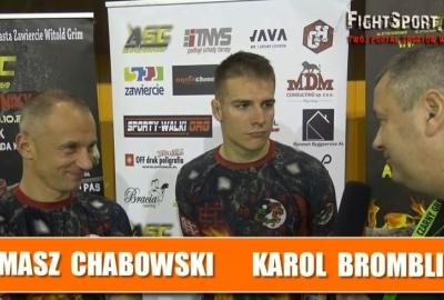 Karol Bromblik i Tomasz Chabowski po ASC 1 o zwycięstwie w walce MMA! Wywiad!