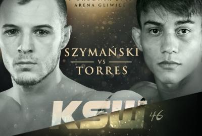 Roman Szymański zmierzy się z Danielem Torresem na gali KSW 46