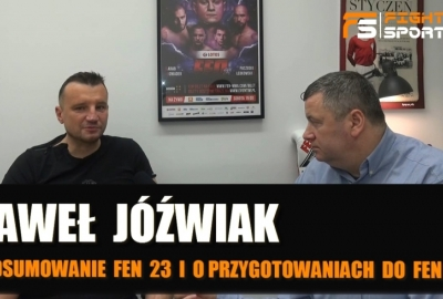 Paweł Jóźwiak po FEN 23 i przyszlości: o Zadorze, Rębeckim, Sianosie, Grabowskim! Wywiad!