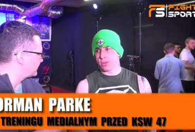 Norman Parke przed KSW 47: Mam większe prawo nazywać się wojownikiem niż Borys Mańkowski! Wywiad!