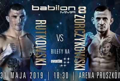 Daniel Rutkowski vs Damian Zorczykowski o pas mistrzowski w wadze piórkowej na Babilon MMA 8