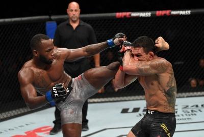 UFC San Antonio: Leon Edwards wypunktował Dos Anjosa, 12 sekundowy nokaut Harrisa na Oleiniku, wygrana bialoruskiego