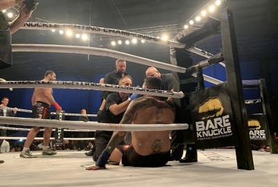 Gabriel Gonzaga ciężko nokautuje Antonio Silvę w walce na gołe pięści na BKFC 8! Video