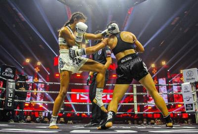 Thai Fight Begins: 55 zwycięstwo z rzędu Saenchai! 187 wygrana 18-letniego fenomenu kobiecego Muay Thai! Wyniki & Video