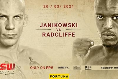 Damian Janikowski kontra mocno bijący Jason Radcliffe na KSW 59!