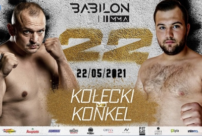 Babilon MMA 22: Sylwester Kołecki kontra Konrad Konkel na karcie walk