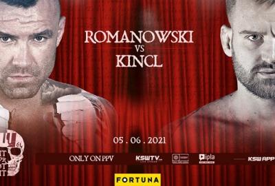 """Zwycięzca """"Tylko Jeden"""", Tomasz Romanowski zmierzy się z Patrikiem Kinclem na KSW 61"""
