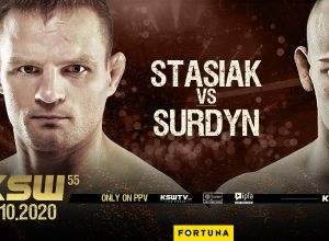 KSW 55 Stasiak vs Surdyn