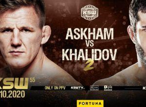 Khalidov vs Askham 2 na KSW 55