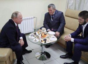 Władymir Putin, Khabib Nurmagomedov