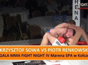 Krzysztof Sowa vs Piotr Renkowski na MMA Fight Night IV