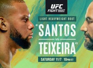 UFC Fight Night Santos vs. Teixeira