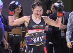 Dominika Filec Kickboxing