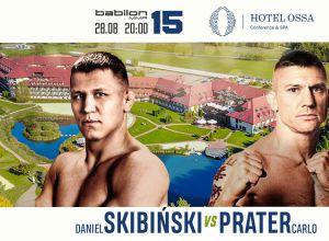 Skibiński vs Prater na Babilon MMA 15