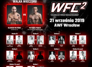 Wrocław Fight Championship 2 - fight card