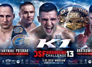 DSF Kickboxing Challenge 13 Wrocław