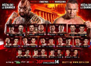 DSF Kickboxing Challenge 14