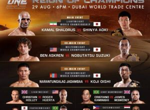 ONE FC 19: Reign of Champions: Dubai