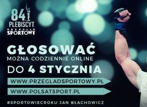 Jan Błachowicz, Plebiscyt Przeglądu Sportowego