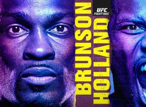 UFC on ESPN 21 Brunson vs Holland