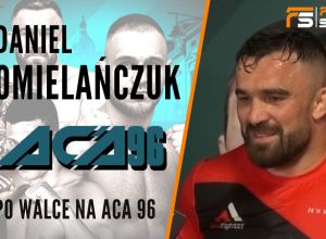 Daniel Omielańczuk po walce na ACA 96