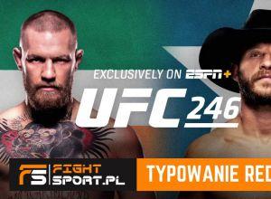 UFC 246 Typowanie redakcji FightSport.pl