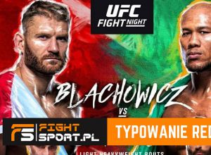 UFC on ESPN+ 22: Błachowicz vs Jacare - typowanie redakcji FightSport.pl