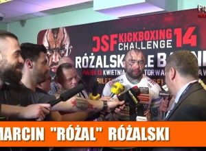 Marcin Różalski po DSF Kickboxing Challenge 14