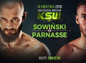 KSW 43 Sowiński vs Parnasse
