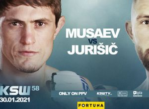 Musaev vs Jurisic, KSW 58