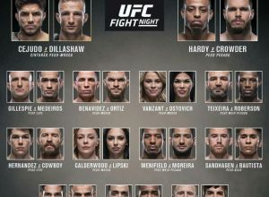 UFC Fight Night 143