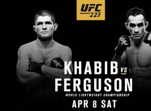 UFC 223 Ferguson vs Nurmagomedov