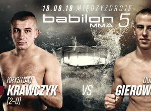 Babilon MMA 5 Krawczyk vs Gierowski