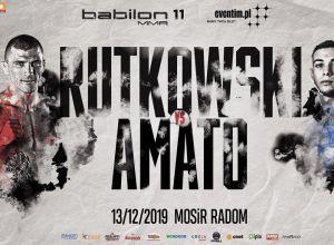 Rutkowski vs Amato na Babilon MMA 11