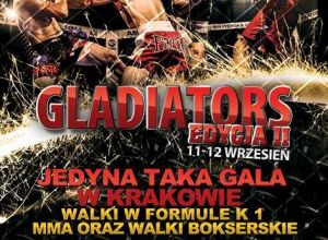 Gladiators of the Cage II poster