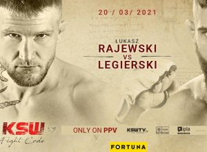 KSW 59 Rajewski vs Legierski