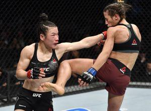 Zhang Weili vs Joanna Jęderzejczyk