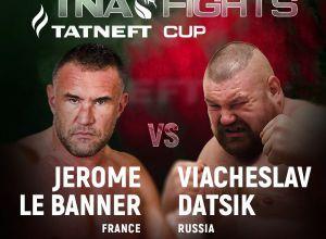 "Jerome Le Banner vs Vyacheslav ""Red Tarzan"" Datsik"
