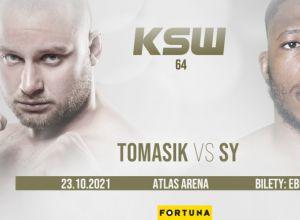 KSW 64 Tomasik vs Sy
