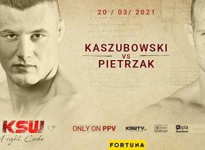 KSW 59 Kaszubowski vs Pietrzak