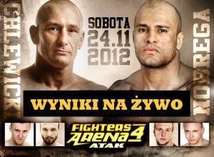 Fighters Arena 4 wyniki na żywo