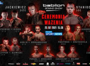 Babilon Boxing Show ważenie