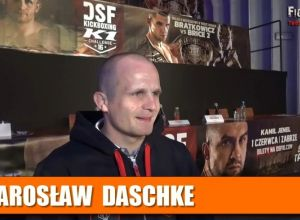 Jarosław Daschke przed walką na DSF 16