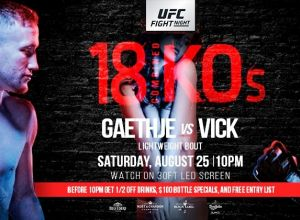 UFC Fight Night 135 Gaethje vs. Vick