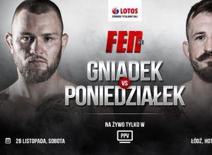 Kamil Gniadek vs Piotr Poniedziałek na FEN 31