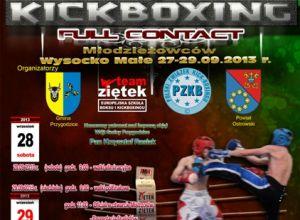 Mistrzostwa Polski w Kickboxingu Wysocko Małe 2013