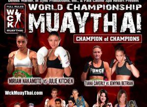 WCK Muay Thai 2012
