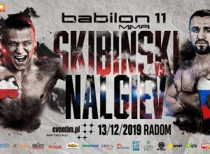 Babilon MMA 11 Skibiński vs Nalgiev